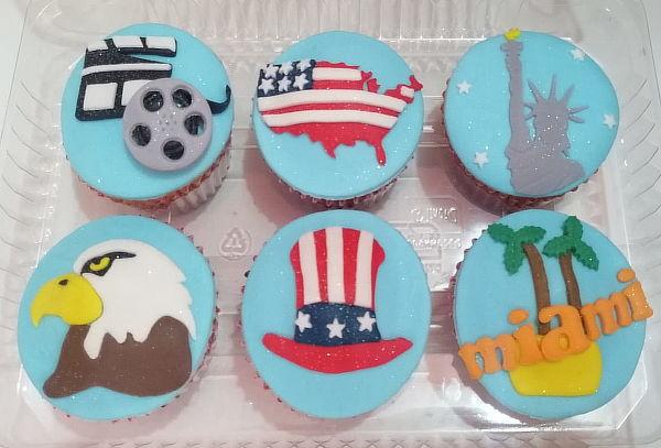 6 Cupcakes Grandes Personalizados Según tu Elección