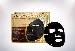 2 Antifaz Mascarilla Facial Negra