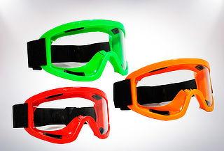 Mono Gafas Protectoras para Casco Antiempañante