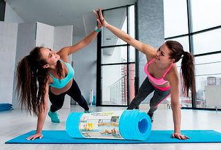 Colchoneta Gym-Camp Multifuncional para Ejercicios