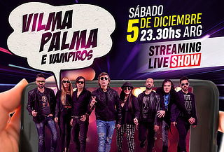Vilma Palma e Vampiros en Concierto Virtual