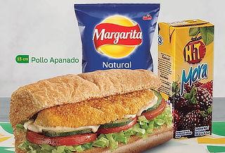 SUBWAY: Sándwich 15 cm + Bebida + Papa o Galleta