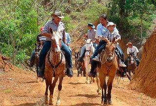 Cabalgata con Miniparrillada para Dos en La Calera
