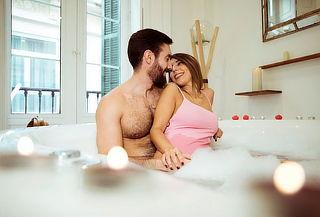 Spa VIP en Pareja con Jacuzzi  Espumoso y Sauna Herbal