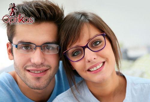 Gafas oftálmicas en CR39  + Gafas de sol en Niza