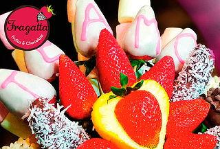 Arreglo con Frutas Acholatado a Domicilio