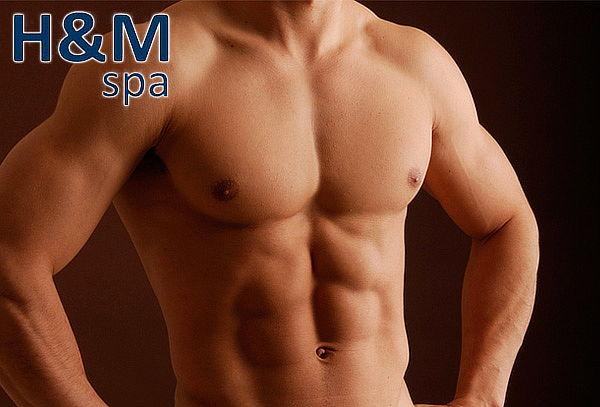 50 Sesiones de Marcación y Reducción de Abdomen para Hombres