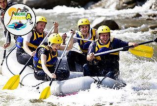 Circuito Aventurero con Ciclomontañismo + Rafting en Utica