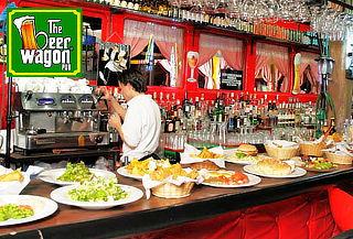 Picada para 2 o 4 + 1 Jarra de Cerveza Vía La Calera