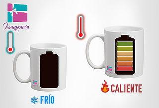 Pocillo Mug Energy Cambia Color con la Bebida Caliente