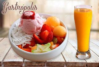 2 Ensaladas de Frutas Gastrópolis + 2 Jugos Naturales