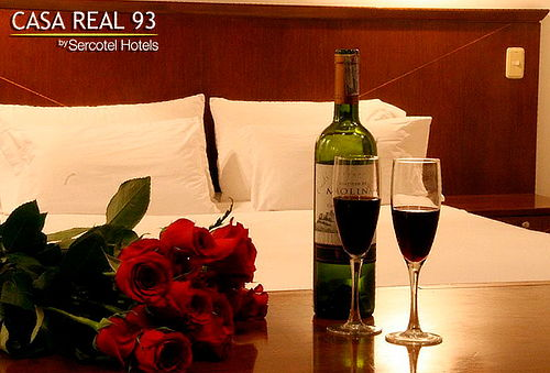 Noche Romántica + Cena a la Habitación