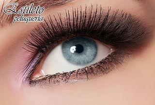 Extensión de pestañas pelo a pelo + Diseño de cejas en Chico