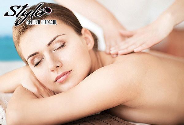 Masaje de Relajación + Limpieza Facial