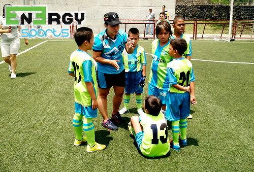 Clases de Fútbol Infantil Unidad Deportiva Maria Luisa Calle