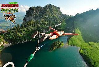 Salto de Bungee Jumping en los Andes