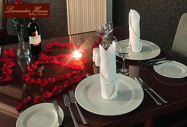 Cena Romántica en Hotel Lancaster House