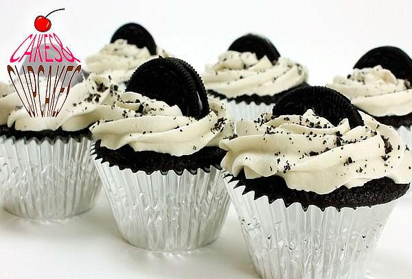 48 Cupcakes Medianos y Rellenos a Domicilio