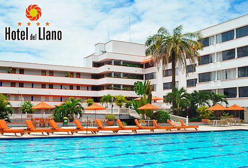 Descanso para 2 en el Hotel del Llano - Villavicencio