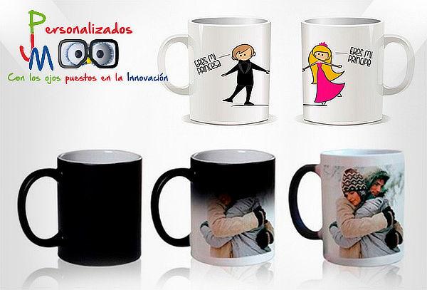 2 Mug Personalizados y/o Mágicos a Domicilio