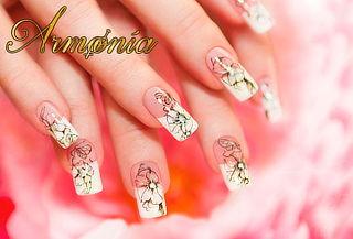 Uñas Acrílicas + Manicure
