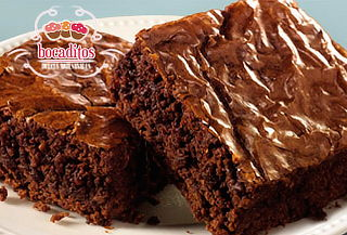 Brownies Aptos para Diabetícos