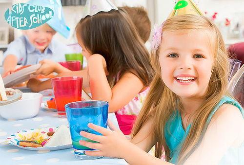 Decoración para Fiesta Infantil con Fuente de Chocolate