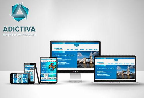 Página Web + Dominio + Hosting + Soporte por 1 Año