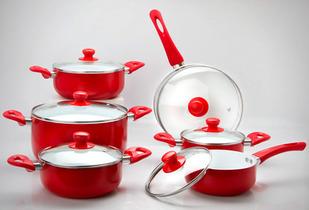 OUTLET - Bateria De Cocina CeramicSkin 12 Piezas