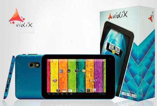 """OUTLET - Tablet De 7"""" Vidix Silver Azul"""