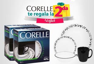 OUTLET - Vajillas Corelle® 16 Piezas