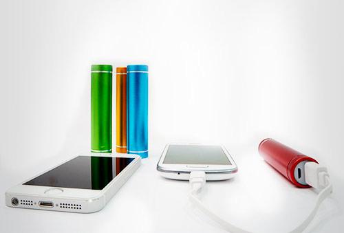 OUTLET - Bateria Externa Lipstic 2800 Mah
