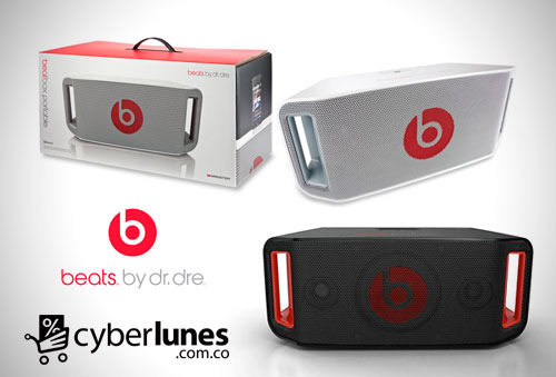 OUTLET - Sistema De Audio Beatbox Bluetooth Negro