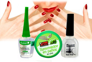OUTLET - Kit Uñas Uñas De Hierro