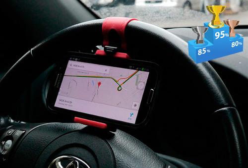 OUTLET - Soporte Para Celular Cuponatic En El Timon Soporte para Smarthphone en el Timon $23,990