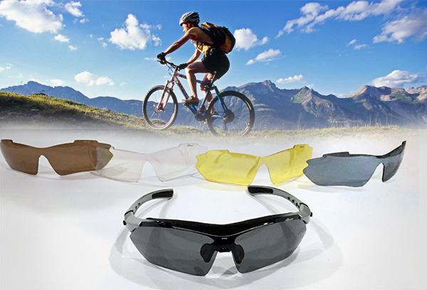 OUTLET - Gafas Ellesse 5 Lentes + Estuche Lujo
