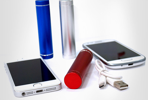 OUTLET - Power Bank Cuponatic Lipstick 2800 Mah Azul