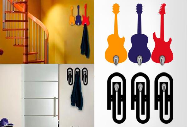 OUTLET - Perchero Acrilico Guitarras