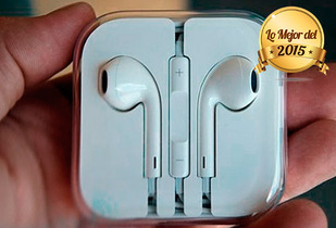 OUTLET - Audifonos Cuponatic Manos Libres Iphone Blanco