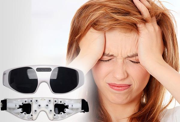 OUTLET - Gafas Masajeradoras Para La Migraña