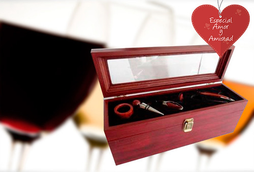 OUTLET - Set Vino Bamboo