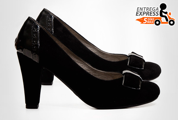 OUTLET - Tacones HenryMouse 1334 Negro 38