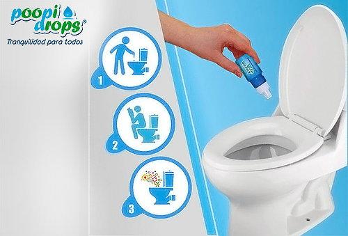 OUTLET - Poopi Drops PoopiDrops Eliminador De Olores Poopi Drops 2 Unidades