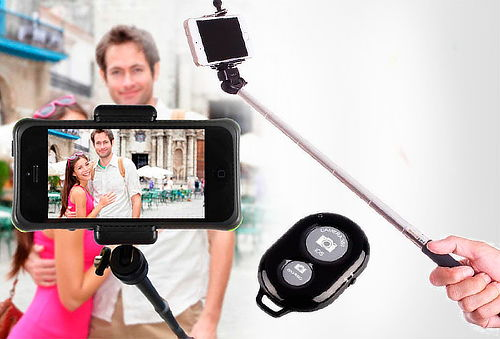 OUTLET - Monopod Negro + Control Monopod + Control $19990