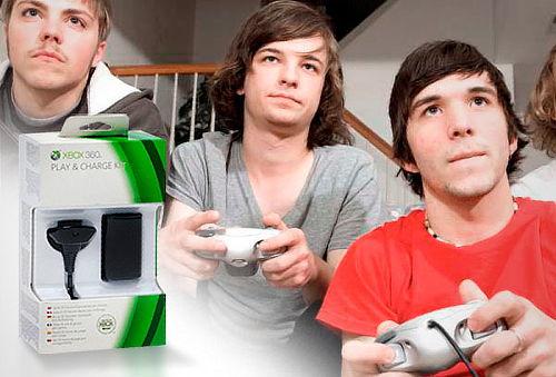 OUTLET - Kit Para Xbox Juega Y Recarga