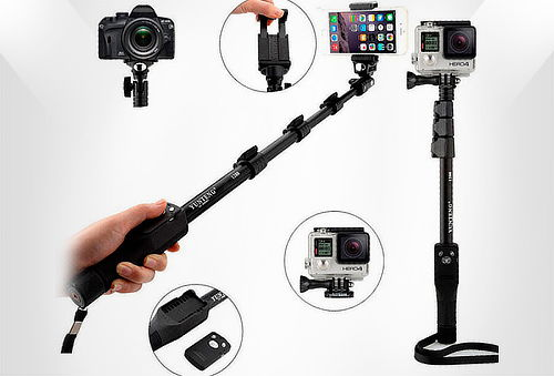 OUTLET - Monopod Profesional Yunteng Yt-1288