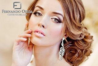 Prueba para Novia Peinado y Maquillaje en Galerias
