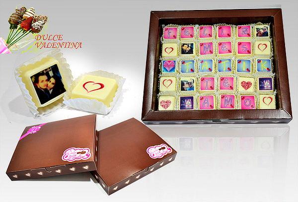 Caja de 30 Chocoletras con Envío