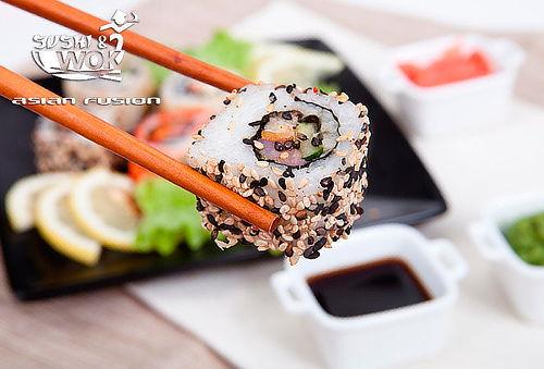 Sushi a eleccion 20, 40 o 60 bocados