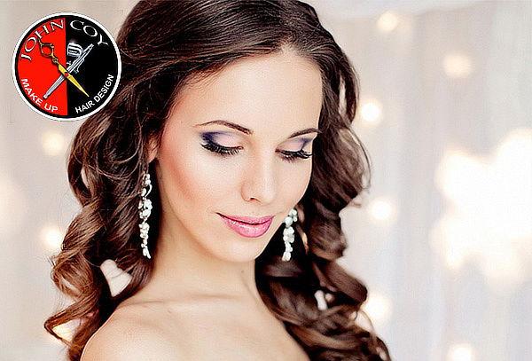 2 Pruebas de Maquillaje con Aerógrafo + 2 Peinados